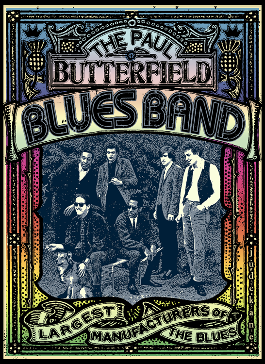 Paul Butterfield Blues Band @Freakoutville